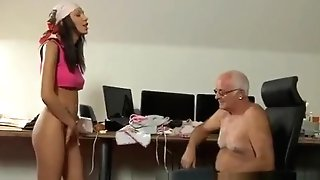 Big Tits And Booty Cougar And Stoned Teenage Paramours At That Moment Silvie Comes In