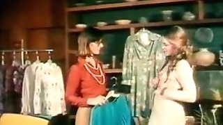Sharon Thorpe And Constance Money In 70's Movie