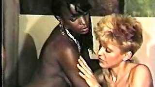 Black Woman, Milky Boy All girl Scene