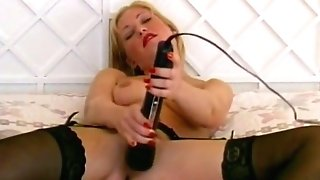 Antique Brit Mummy Talks Dirty As She Masturbates