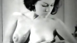 June Palmer Is A Striptease Queen (1950s Antique)